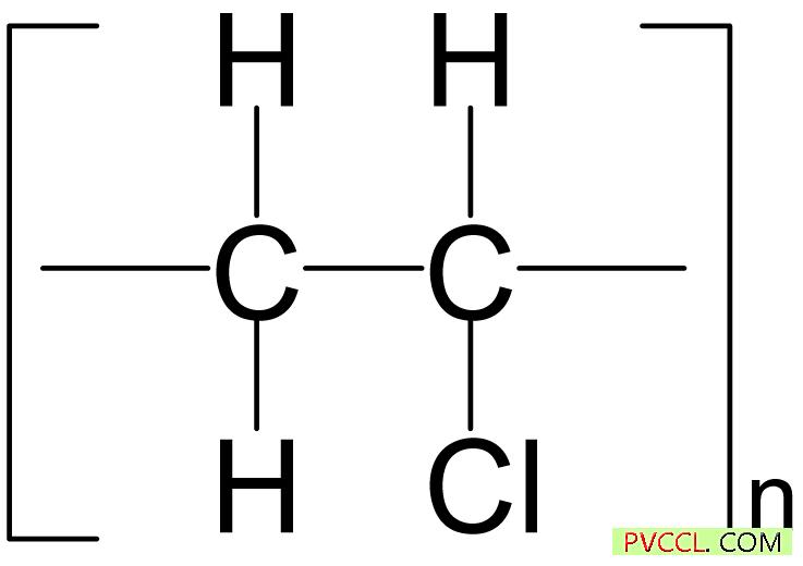 pvc的化学结构图