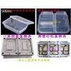 750毫升一次性饭盒塑胶模具 1000毫升PP快餐盒注射模具